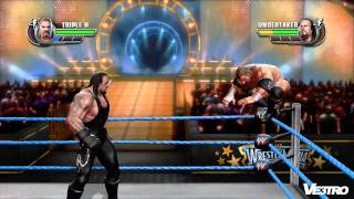 WWE: All Stars Triple H vs Undertaker Wrestlmania Gameplay   (HD 1080p)
