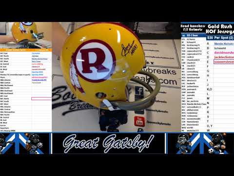 2017 10 24 2017 HeadKnockers FS Helmet Break 2 Boxer, Sonny Jurgensen, Kareem Hunt