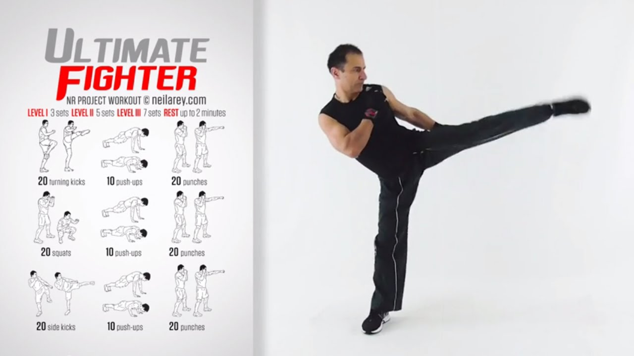 Ultimate Fighter Workout - YouTube