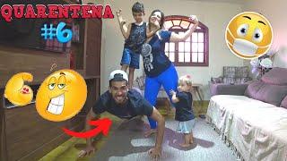 ATIVIDADE FÍSICA Musculação em casa na quarentena - EXERCÍCIOS FÍSICOS TREINO - Família Rocha