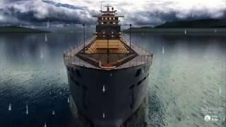 PW Cargo Ship by Perry Walinga.