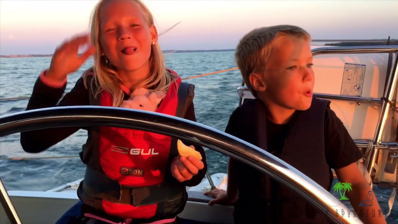Download Ep. 9 sailing on Summervacation in Sweden and refitting companionway doors on the boat.