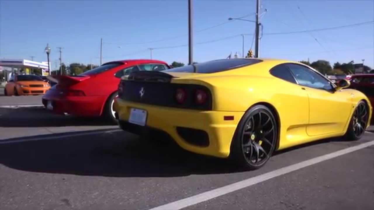 Michigan Cars And Coffee 2014 - YouTube