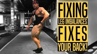 FIX LEG IMBALANCES with THIS Leg Workout for a Healthy Back and Muscular Legs