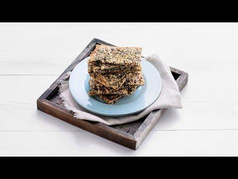 Crackers met lijnzaad en pompoenpitten – Allerhande