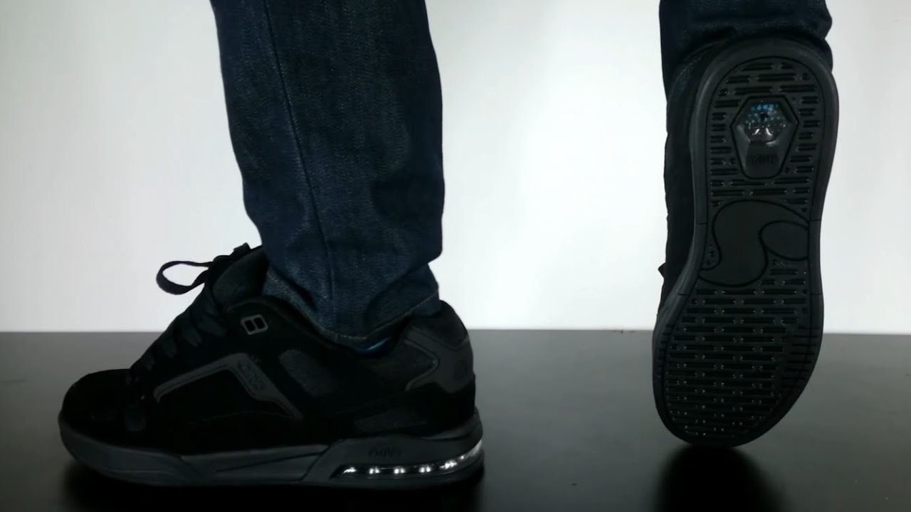 DVS DRONE X ANDERSON black leather
