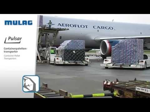 Pulsar Containerpalettentransporter - MULAG Flughafenfahrzeuge