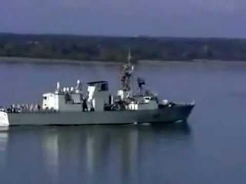 HMCS Montreal at Cap-Charles