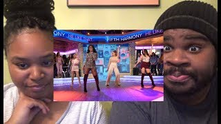 FIFTH HARMONY - HE LIKE THAT (LIVE ON GOODMORNING AMERICA) - REACTION