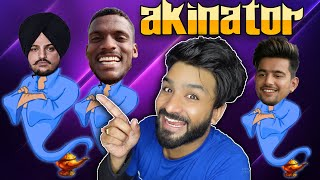 Finding Sidhu Moose Wala | KAKA | Jass Manak on AKINATOR | He Knows Everything