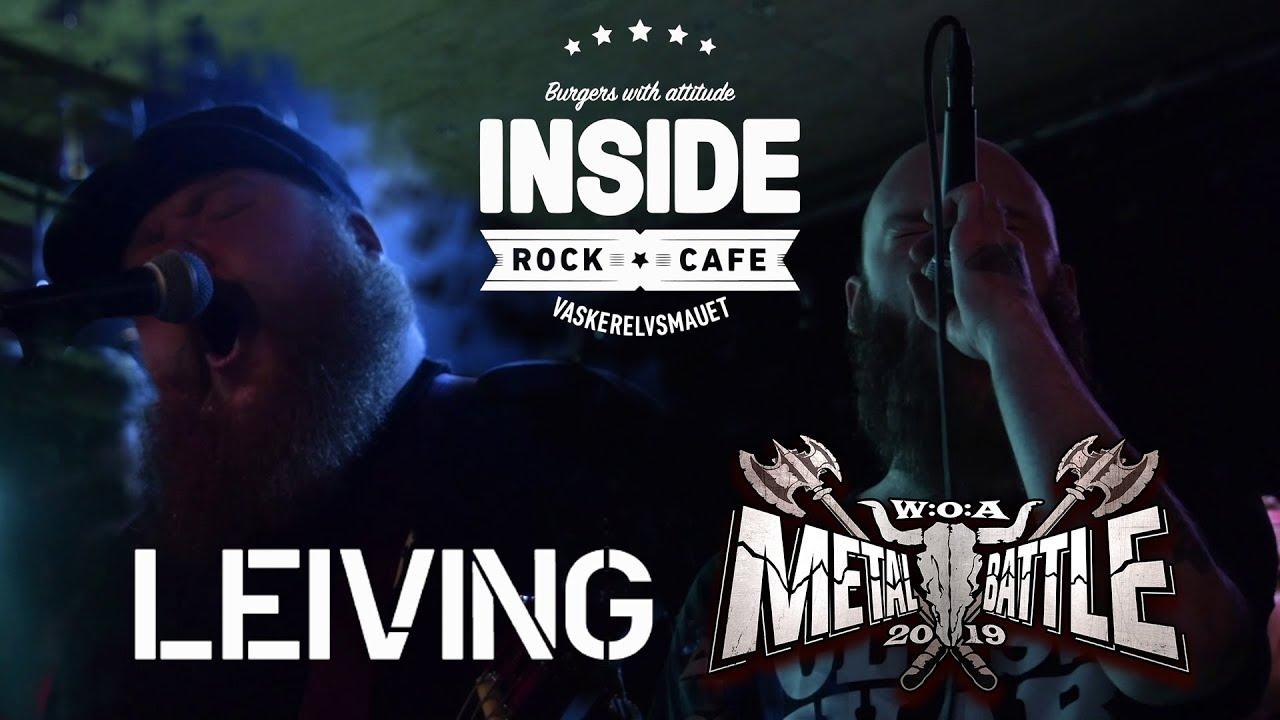 Leiving - Live @ Inside Live & Rock Café - Wacken Metal-Battle 2019