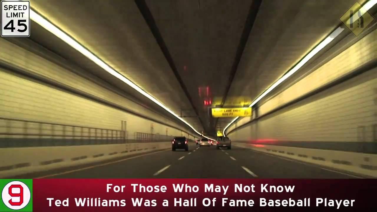 Boston, MA I-90 West to I-93 South via Tunnels REMIX