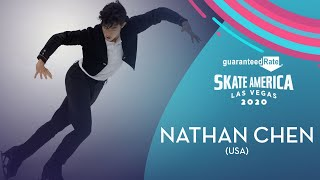 Nathan Chen (USA)   Men Short Program   Guaranteed Rate Skate America 2020   #GPFigure