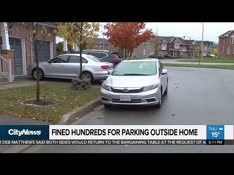 Ajax residents fed up with bylaw that bans parking outside their homes
