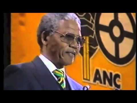 Mandela release from prison speech full speech