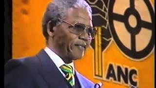 Mandela release from prison speech full speech