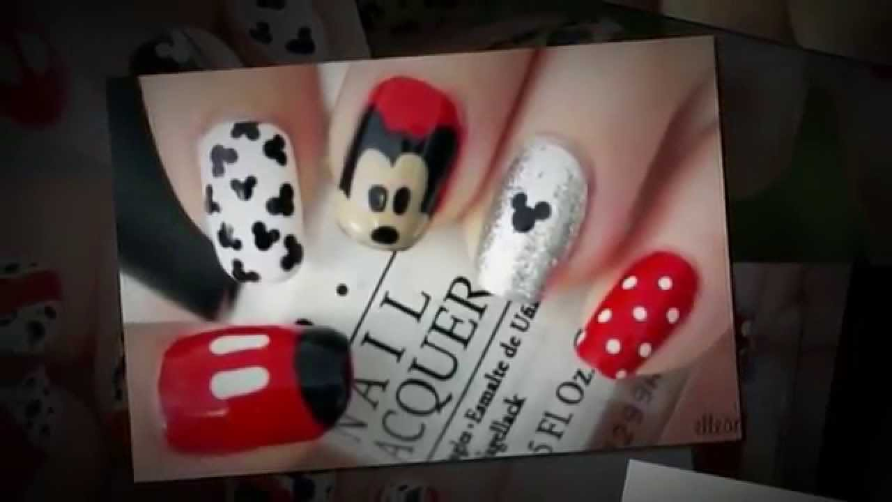 Fotos de Decoraciones de Uñas de Mickey Mouse - YouTube