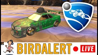 ROCKET LEAGUE - Unranked gameplay, just chilling | Birdalert [PC] (CHILL, CHAT!)