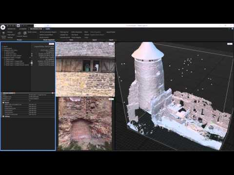 RealityCapture: Making a 3D model from photos and laser scans