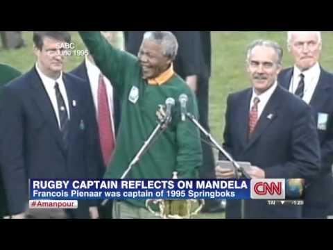2b8d6be6a36 Francois Pienaar on seeing Mandela wearing his Springbok rugby jersey
