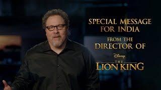 The Lion King | Jon Favreau Greeting | Tickets On Sale | In Cinemas July 19
