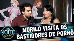 "The Noite (06/04/15) - Murilo Couto visita bastidores do megafilme ""Soraya e seu harém de 100"""