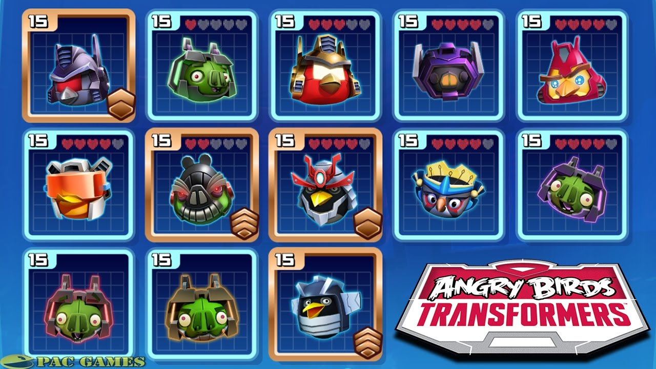 Angry Birds Transformers: All New - 198.2KB