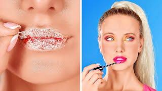 TRUCOS ORIGINALES DE BELLEZA Y MAQUILLAJE || Tips femeninos y consejos de belleza por 123 GO!