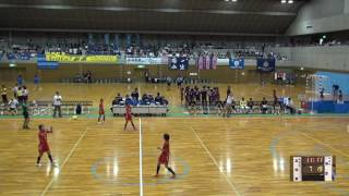 5日 ハンドボール女子 国体記念体育館 Dコート 高知東×浦添 1回戦 2