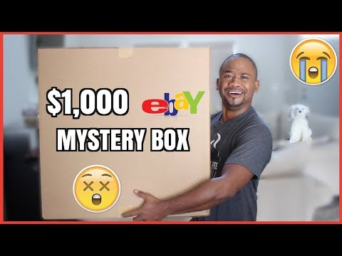 $1000 Mystery Box from Ebay | THEY SET ME UP !!