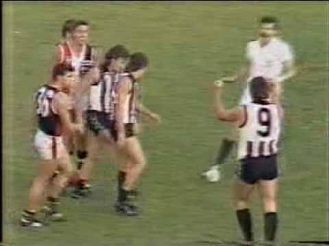 AFL - Bryan Taylor goes nuts