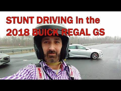 STUNT DRIVING IN THE 2018 BUICK REGAL GS