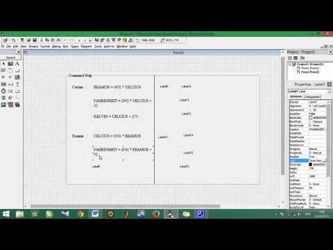 Cara Membuat Variabel Visual Basic