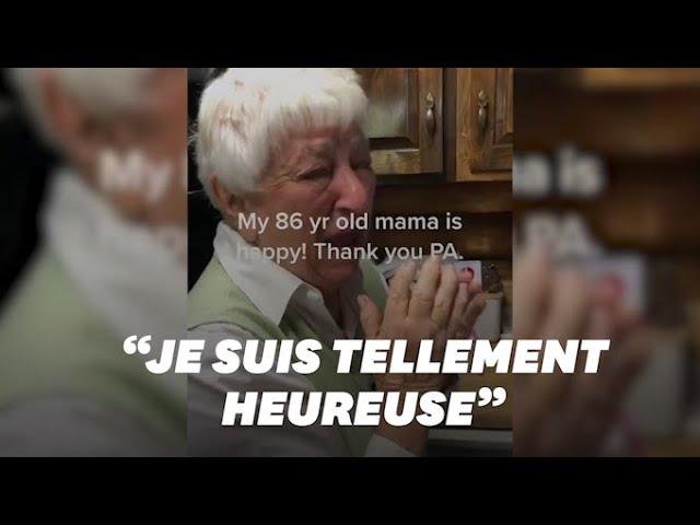 Victoire de Biden: les larmes de cette Américaine de 86 ans ont ému Internet