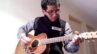Guitar cover for dekat di hati