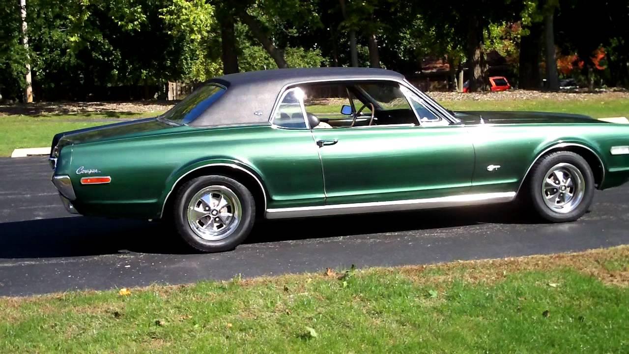 1968 Mercury Cougar Xr7 Gt 2 Youtube