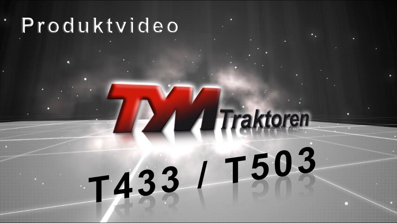 Трактор TYM T433 | T503
