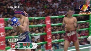 ប្រដាល់បិទភ្នែក ! ធន់ វិស្ណុ Vs ឌុន រ៉ៃយ៉ា, 02/September/2018, BayonTV Boxing