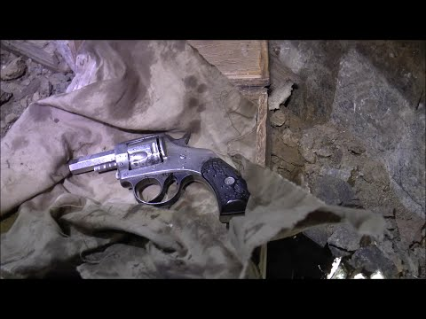 Dangerous Exploration: Finding an Old Gun in the Wicked Wash Mine (Part 3)
