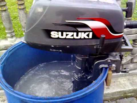 Suzuki 4 hp outboard motor 2000r 2 stroke dwusuw youtube for Suzuki outboard motor repair