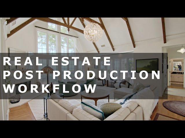Real Estate Post Production in Davinci Resolve