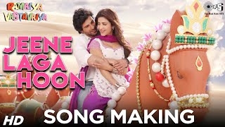 Jeene Laga Hoon Song Making Ramaiya Vastavaiya Behind The Scenes