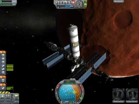 KSP 0.18 - Duna Science Station part 5 (DSS Crew transfer)