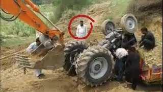 Dangerous Tractor accident in Punjab Pakistan