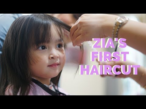 Hair like Mama - Zia Dantes gets her first haircut   The Dantes Squad