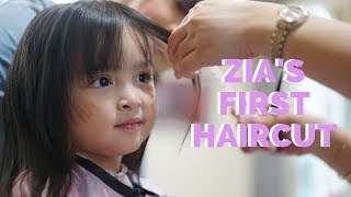 Hair like Mama - Zia Dantes gets her first haircut | The Dantes Squad