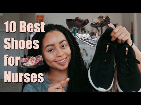 Top Ten Best Nursing Shoes