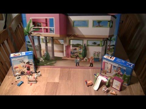 Die neue LUXUSVILLA 5574 von Playmobil Aufbau und Zubehör City Life