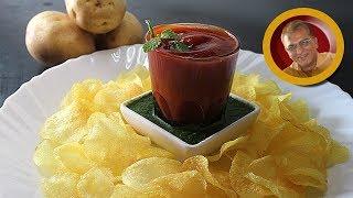 instant potato chips recipe / ५ मिनट मे कुरकुरित बटाटा वेफर्स /aloo chips