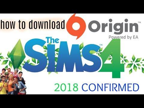 How to download origin on desktop computer & Sims 4